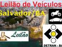 Leilão de veículos dia 28/10/2015 – Veículos apreendidos em Salvador/BA