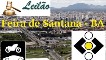leilao detran ba Feira de Santana Bahia